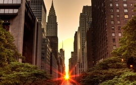 Sunsets cityscapes wallpaper