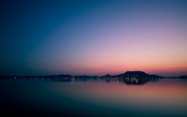 Sunsets hungary greatl sunset lake balaton badacsony wallpaper