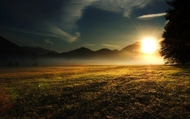 Sunsets landscapes nature photography sunlight wallpaper