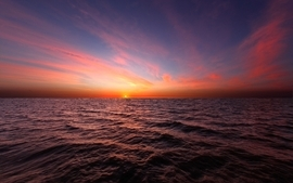 Sunsets ocean wallpaper