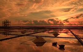 Sunsets skyscapes wallpaper