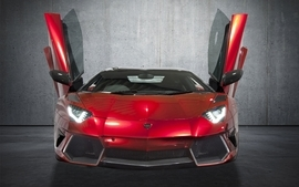 Supercars tuning lamborghini aventador red cars mansory 2 wallpaper