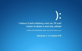 Text humor funny blue screen of death amusing wallpaper