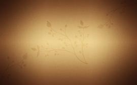 Textures floral wallpaper