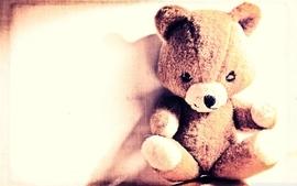 Toys children stuffed animals teddy bears wallpaper