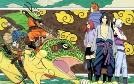 Uchiha sasuke karin naruto shippuden frogs suigetsu naruto wallpaper