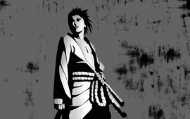 Uchiha sasuke naruto shippuden open shirt sharingan red eyes wallpaper