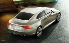 Vehicles supercars volvo universe concept wallpaper
