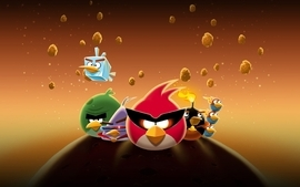 Video games angry birds angry birds space wallpaper