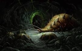 Video games cave diablo bugs diablo ii wallpaper