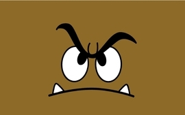 Video games super mario goomba wallpaper