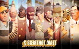 Video games team fortress 2 fps wallpaper