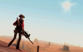Video games team fortress 2 sniper wallpaper