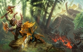 Video games world of warcraft wallpaper