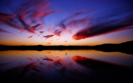 Water sunsets landscapes wallpaper