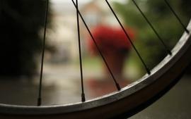 Wheels depth of field wallpaper