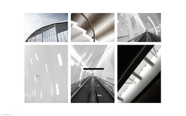 White architecture modern photomanipulations 2 wallpaper