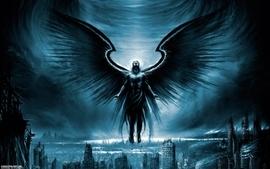 Wings apocalypse fantasy art artwork dark angels sylosis wallpaper