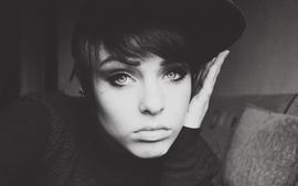 Women blue eyes redheads deviantart amateurs photographers faces wallpaper