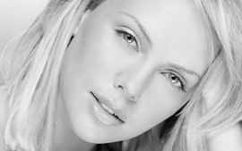 Women closeup charlize theron faces wallpaper