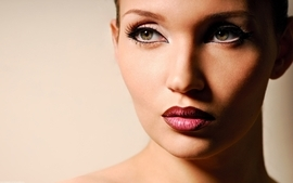 Women closeup faces wallpaper