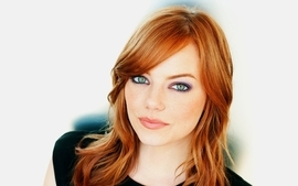 Women eyes actress redheads emma stone wallpaper