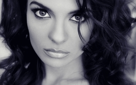Women eyes monochrome faces krista ayne wallpaper