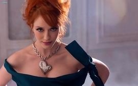 Women eyes redheads christina hendricks wallpaper