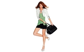 Women minimalistic redheads models fashion spring season wallpaper
