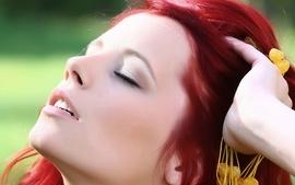 Women redheads ariel piper fawn 4 wallpaper