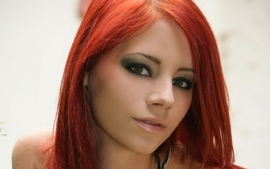 Women redheads ariel piper fawn faces 3 wallpaper