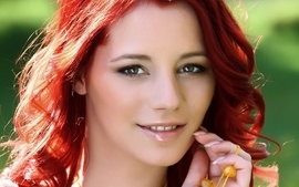 Women redheads ariel piper fawn wallpaper