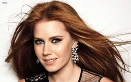 Women redheads models amy adams lipstick makeup 2 wallpaper