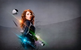 Women scarlett johansson black widow natasha romanoff the wallpaper