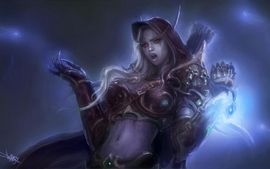 Women skulls world of warcraft fantasy art armor red eyes magic wallpaper