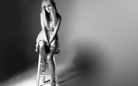 Women taylor swift celebrity monochrome wallpaper