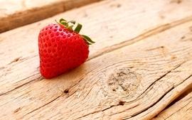 Wood fruits strawberries wallpaper
