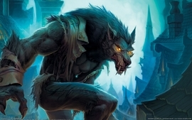 World of warcraft werewolf artwork wallpaper