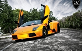 Yellow cars lamborghini supercars wallpaper