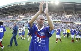 Zinedine zidane football stars wallpaper