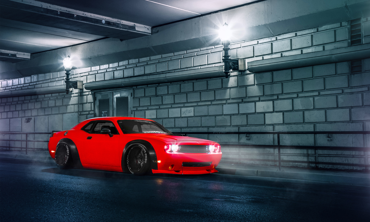 2015 Dodge Challenger SRT (1280x768)