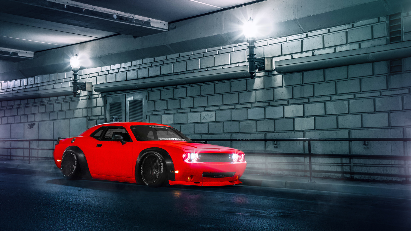 2015 Dodge Challenger SRT (1366x768)