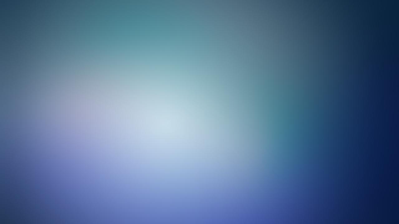 Blue minimalistic blurry gaussian blur (1280x720)