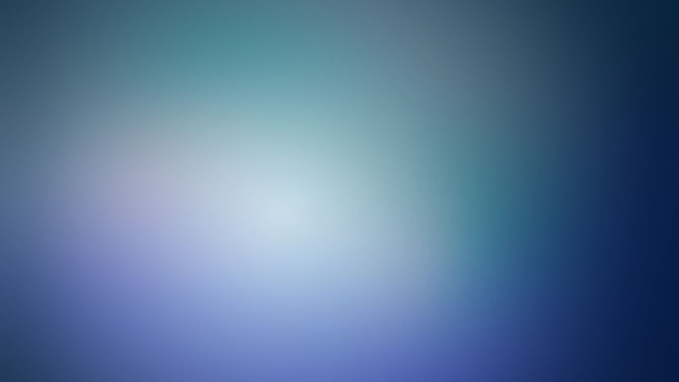 Blue minimalistic blurry gaussian blur (1366x768)