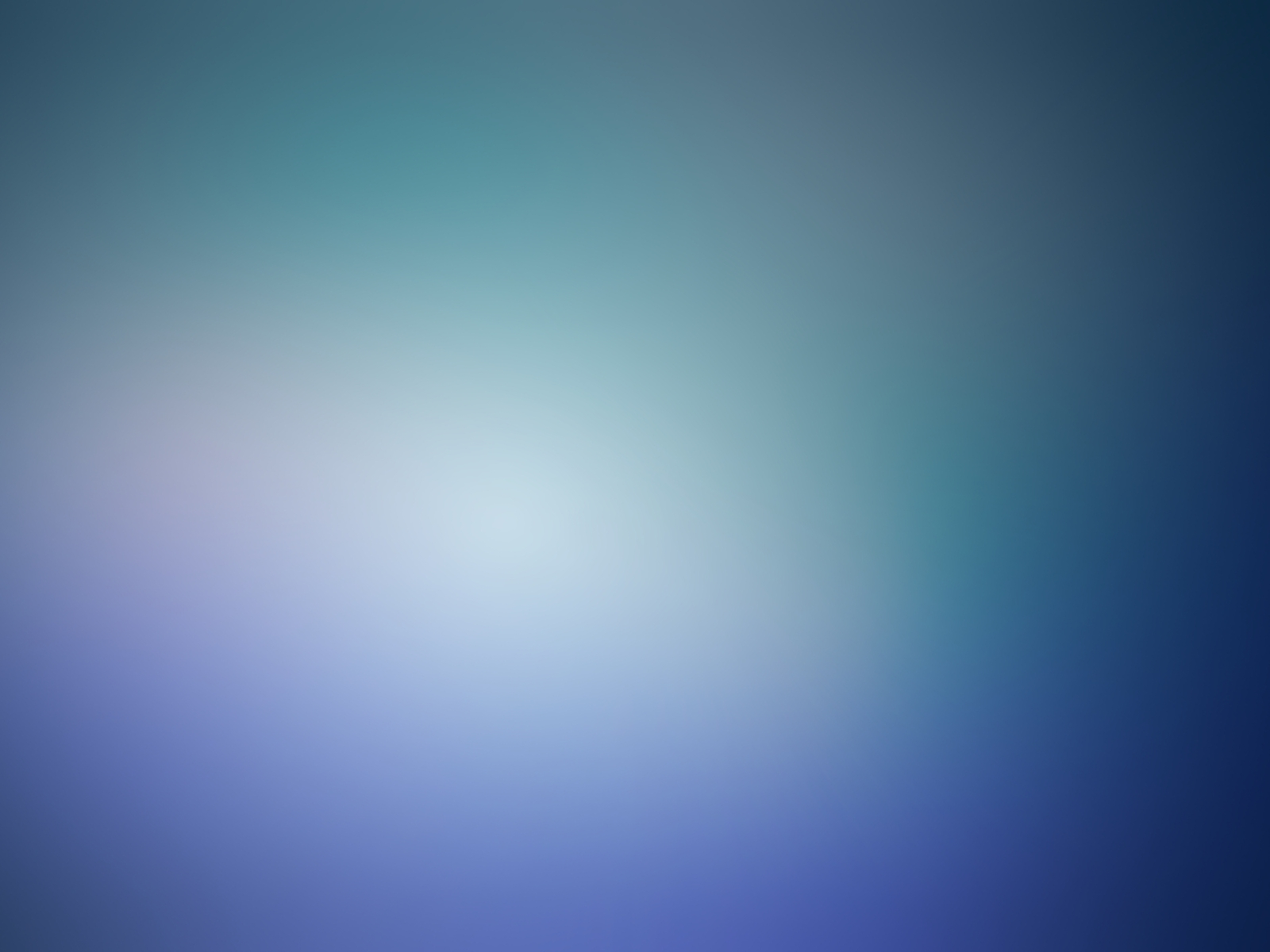 Blue minimalistic blurry gaussian blur (1600x1200)
