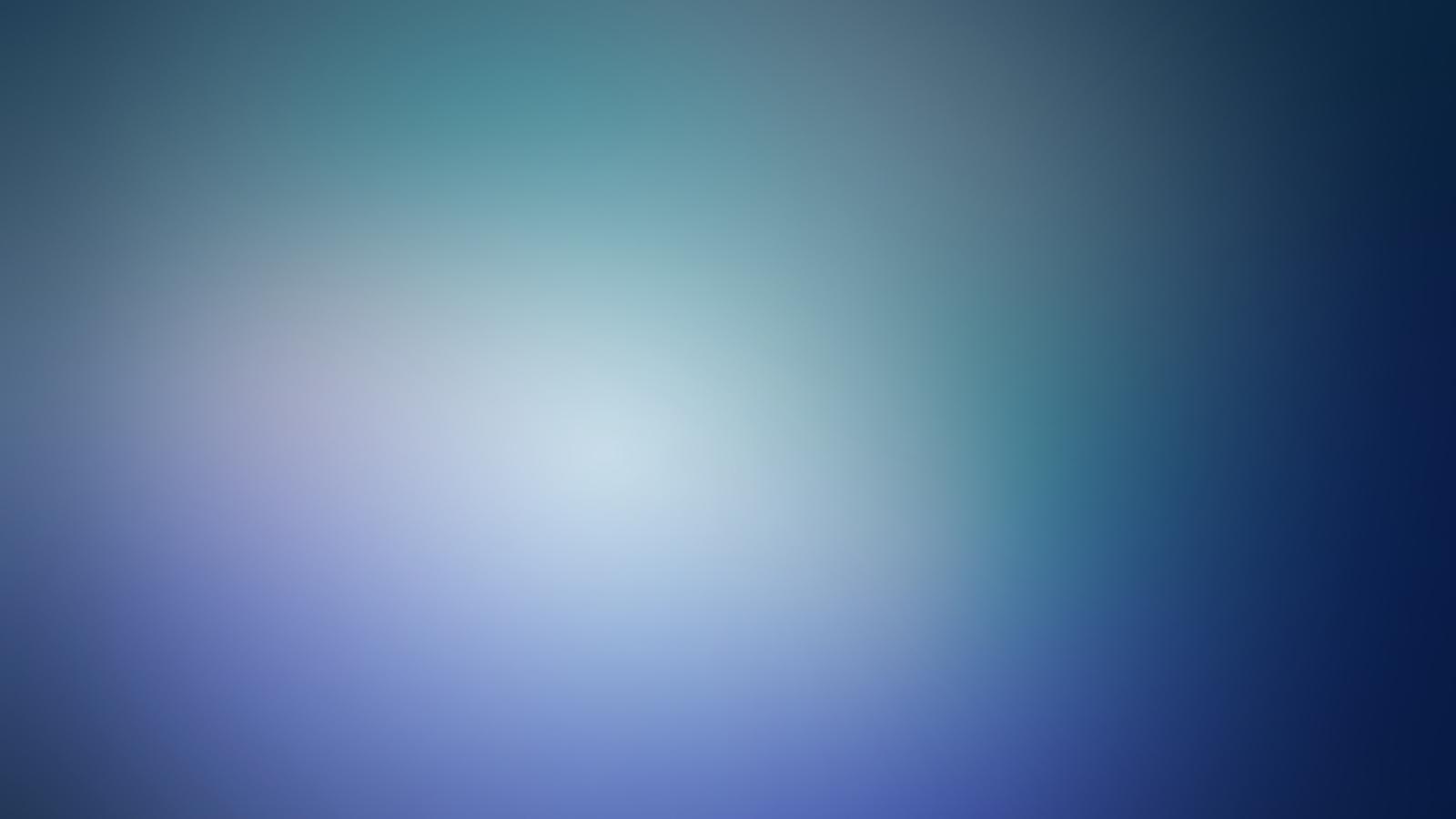 Blue minimalistic blurry gaussian blur (1600x900)
