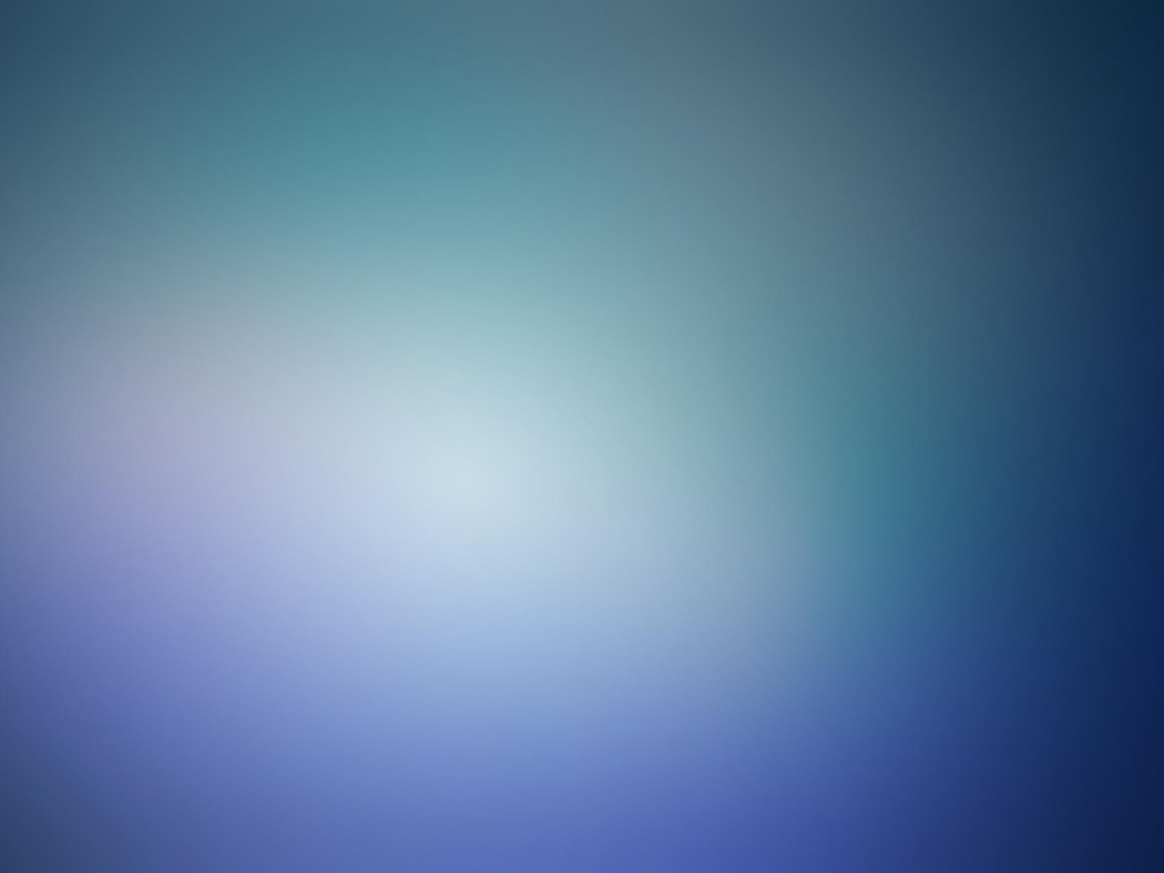 Blue minimalistic blurry gaussian blur (1680x1260)