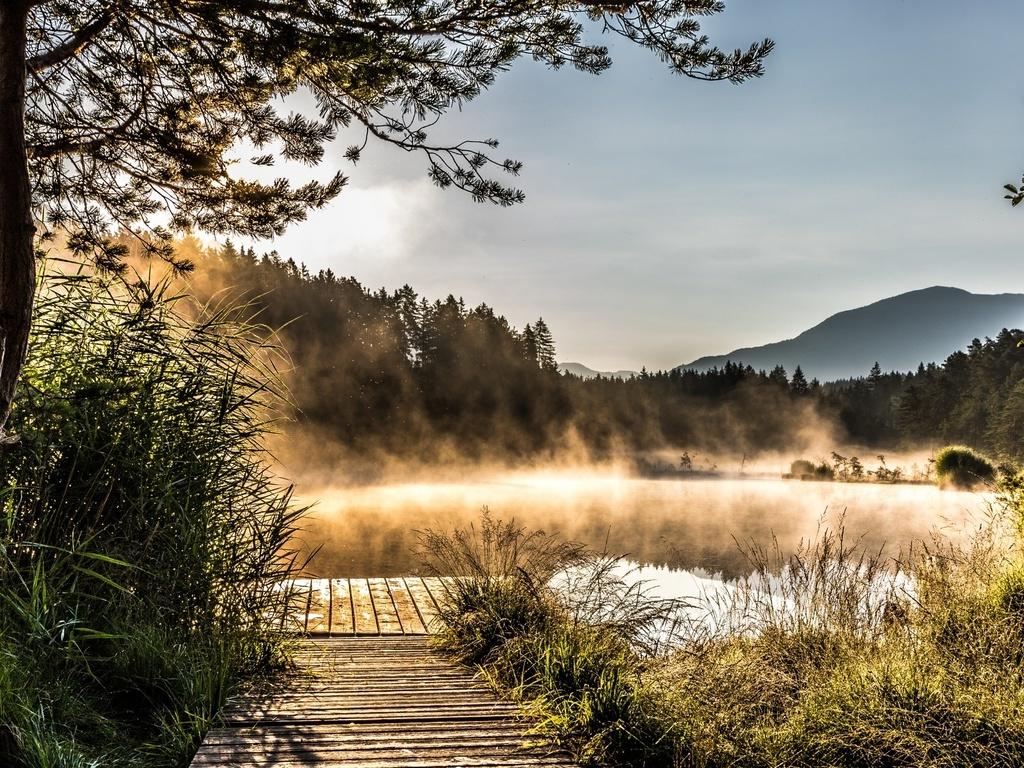 Egelsee Lake in Carinthia (1024x768)