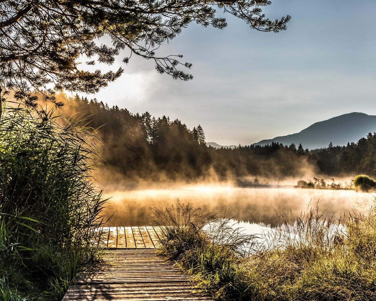 Egelsee Lake in Carinthia (1280x1024)