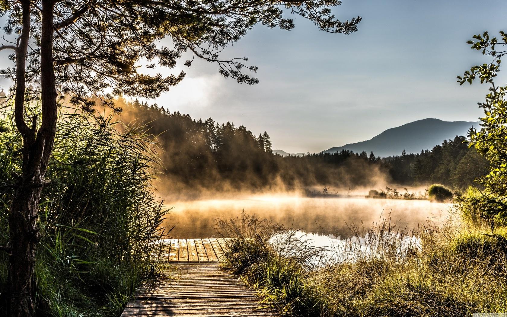 Egelsee Lake in Carinthia (1680x1050)